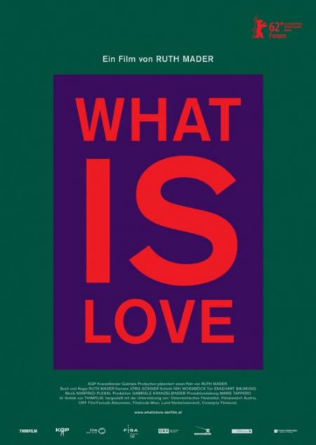 What is love - Filmplakat